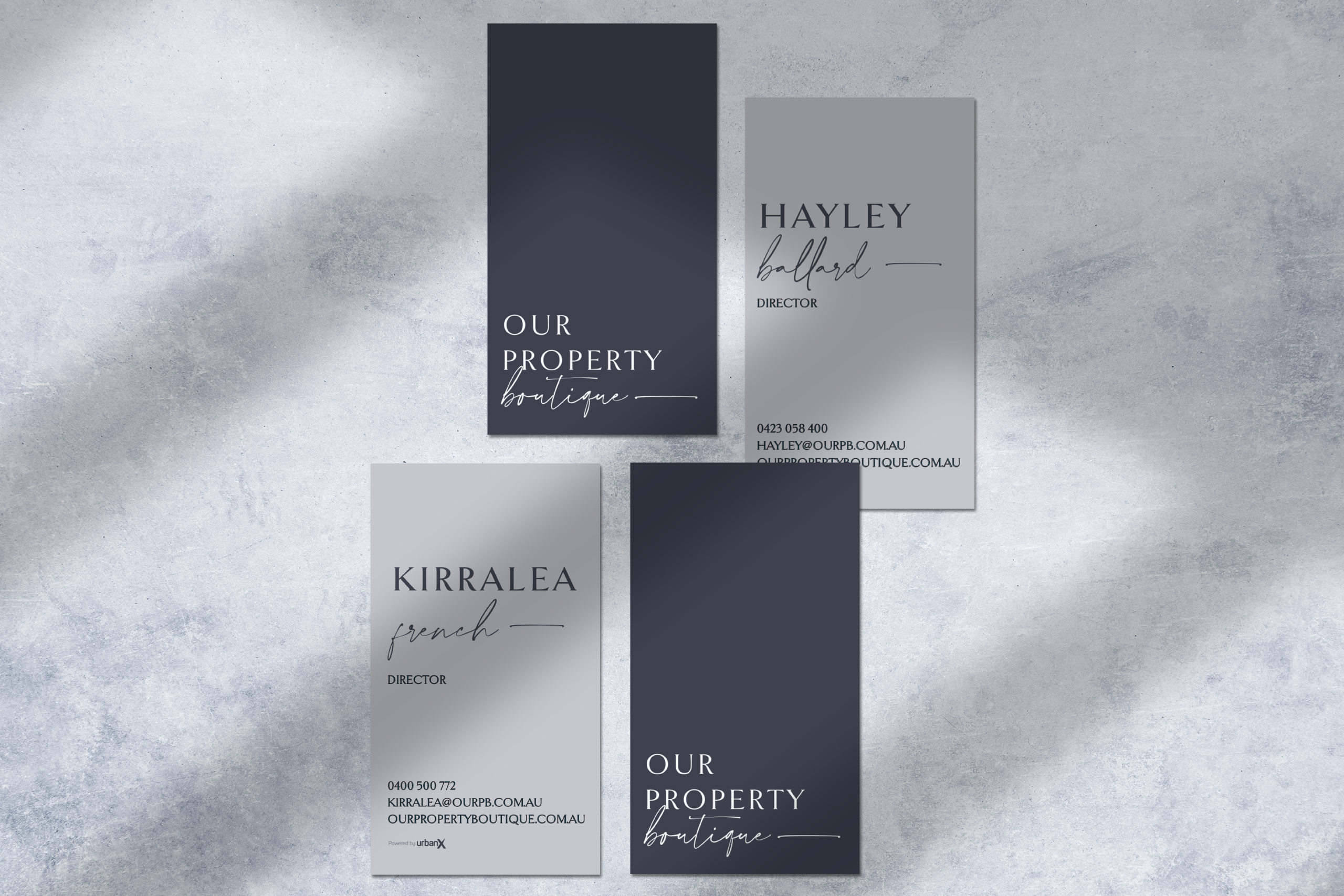 our-property-boutique-business-cards